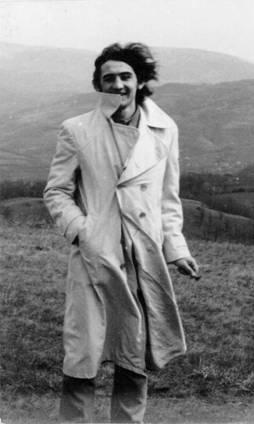 мирослав лукић , снимак из седамдесетих година, начињен у шибовима, хомоље. снимак начинио сликар микан аничић. фотодокументација заветина